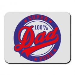 Коврик для мыши Super Dad Pure 100% - FatLine