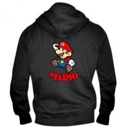 Мужская толстовка на молнии Супер Марио