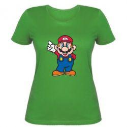 Женская футболка Супер Марио - FatLine