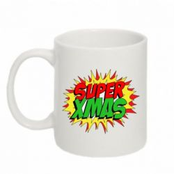 Кружка 320ml Super Xmas - FatLine