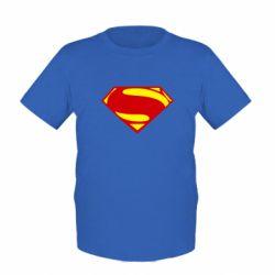 Детская футболка Superman Человек из стали - FatLine
