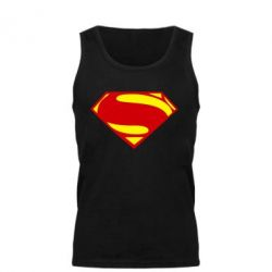 Мужская майка Superman Человек из стали - FatLine