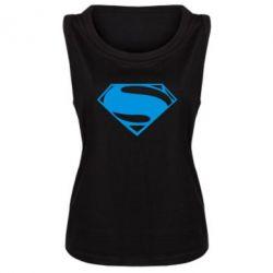 Женская майка Superman Человек из стали - FatLine