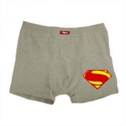 Мужские трусы Superman Человек из стали - FatLine