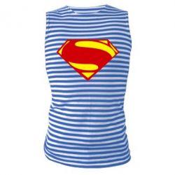 Майка-тельняшка Superman Человек из стали - FatLine