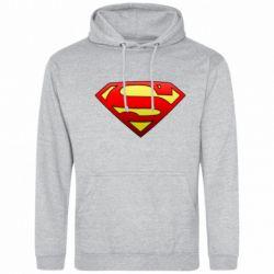 Мужская толстовка Superman Logo - FatLine