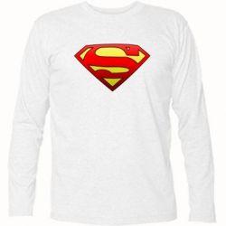 Футболка с длинным рукавом Superman Logo - FatLine