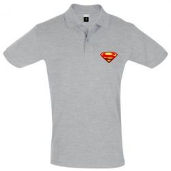 Футболка Поло Superman Logo - FatLine