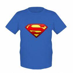 Детская футболка Superman Logo - FatLine