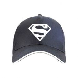 Кепка Superman одноцветный - FatLine