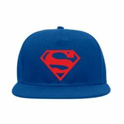 Снепбек Superman одноцветный - FatLine