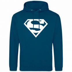Мужская толстовка Superman одноцветный