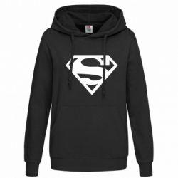 Женская толстовка Superman одноцветный