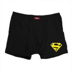 Мужские трусы Superman одноцветный - FatLine