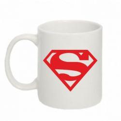 Кружка 320ml Superman одноцветный - FatLine