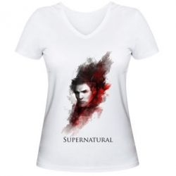 ������� �������� � V-�������� ������� Supernatural Dean - FatLine