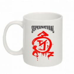 Кружка 320ml Supernatural Logo - FatLine