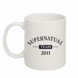 Кружка 320ml Supernatural Team - FatLine