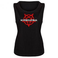 Женская майка Supernatural - FatLine