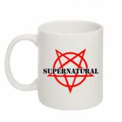 Кружка 320ml Supernatural - FatLine