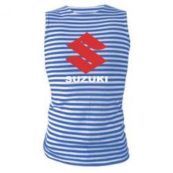 Майка-тельняшка Suzuki