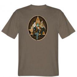 Мужская футболка Сверхъестественное Арт - FatLine