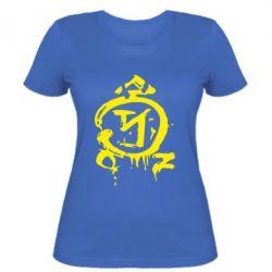 Женская футболка Сверхъестественное логотип - FatLine