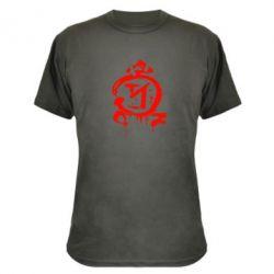 Камуфляжная футболка Сверхъестественное логотип - FatLine