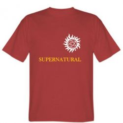 Мужская футболка Сверхъестественное звезда - FatLine