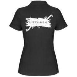 Женская футболка поло Сверхъестественное - FatLine