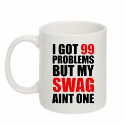 Кружка 320ml Swag 99 problem - FatLine