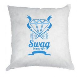 Подушка Swag is your life - FatLine