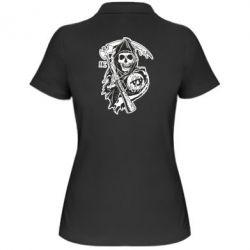 Женская футболка поло Сыны Анархии - FatLine