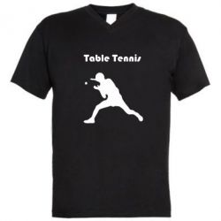 ������� ��������  � V-�������� ������� Table Tennis Logo