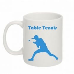 Кружка 320ml Table Tennis Logo - FatLine