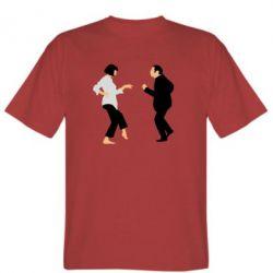 Мужская футболка Танец Криминальное Чтиво - FatLine