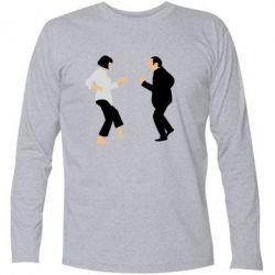Футболка с длинным рукавом Танец Криминальное Чтиво - FatLine