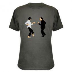 Камуфляжная футболка Танец Криминальное Чтиво - FatLine