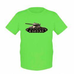 Детская футболка Танк - FatLine
