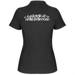 Женская футболка поло Tankograd Logo - FatLine