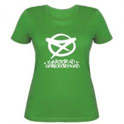 Женская Tankograd Underground Logo - FatLine