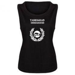 Женская майка Tankograd Underground - FatLine