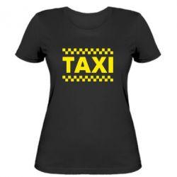 Жіноча футболка TAXI - FatLine