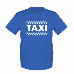 Дитяча футболка TAXI - FatLine