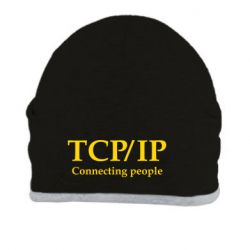 Шапка TCP\IP connecting people - FatLine
