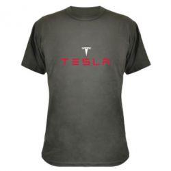 Камуфляжная футболка Tesla - FatLine