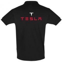 Футболка Поло Tesla - FatLine