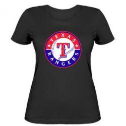 Женская футболка Texas Rangers - FatLine