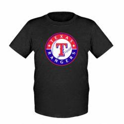 Детская футболка Texas Rangers - FatLine