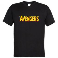 ������� ��������  � V-�������� ������� The Avengers Logo - FatLine